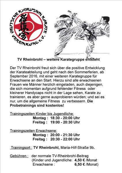 scaled kyokushin trainingszeiten 1